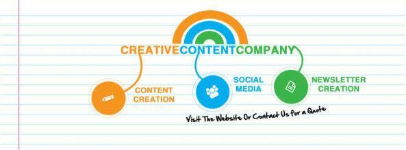 Creative Content Company Facebook Cover